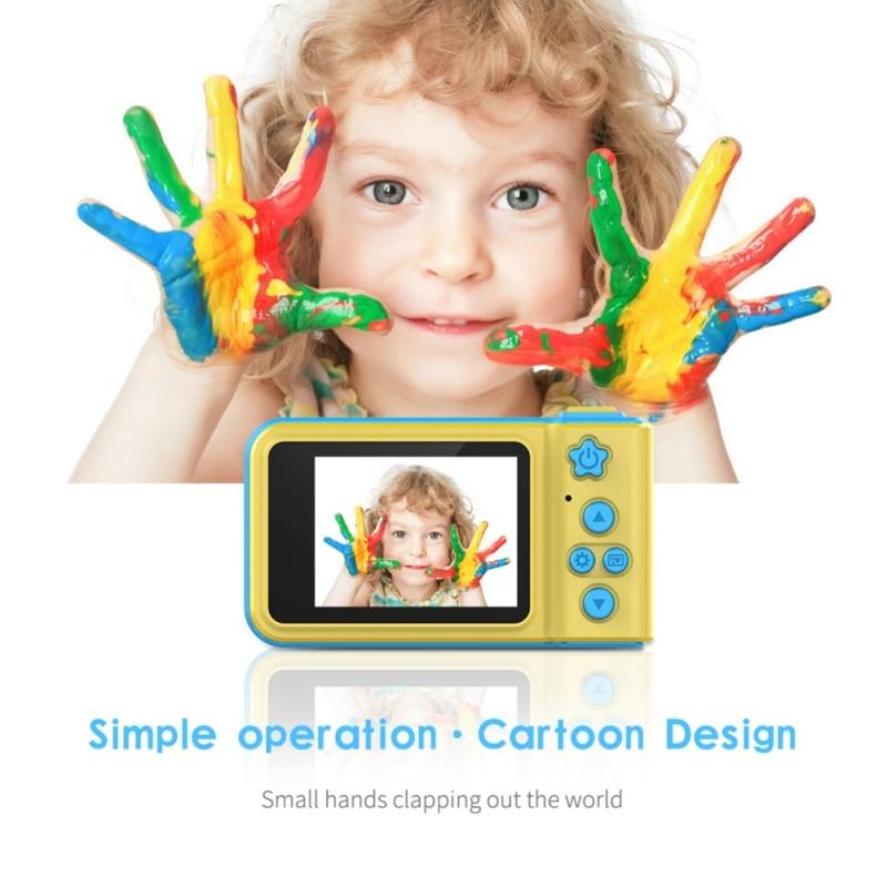 Cute Hot 32GB Kid Camera Toys 2.0 Inch IPS HD Screen Kids Anti-shake Digital Camera For Child Gift