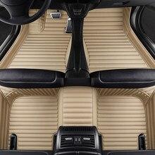 Alfombrilla personalizada de 5 asientos para coche, accesorios para mitsubishi pajero sport Outlander xl ASX LANCER grandis, alfombra