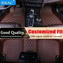 RKAC Car Floor Mat for Toyota rav4 rav 4 2007 2018 Accessories Waterproof leather Car Carpet Liner Floor Mats