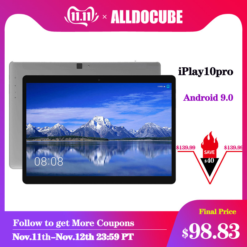 Alldocube iPlay10 Pro 10.1 inch Wifi Tablet  Android 9.0  MT8163  quad core 1200*1920 IPS Tablets PC RAM 3GB ROM 32GB HDMI OTG-in Tablets from Computer & Office