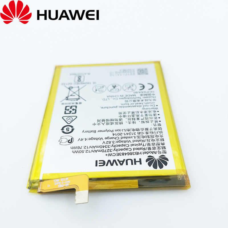 100% Origianl 3340 MAh HB386483ECW + Pin Dành Cho Huawei Honor 6X Mate 9 Lite GR5 Điện Thoại Di Động Pin Chất Lượng Cao + Số Theo Dõi