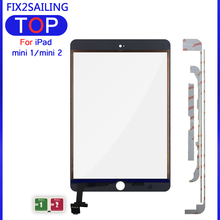 Digitizer Cable Touch-Screen iPad A1454 Mini 1/2/3-a1432 for with Key-Button IC