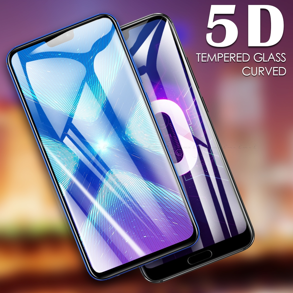 <font><b>5D</b></font> Full Cover Curved Tempered <font><b>Glass</b></font> Screen Protector Protective Film For <font><b>HuaWei</b></font> <font><b>Honor</b></font> Play 8S 8A 8C 8X 10 <font><b>9</b></font> 9X Pro 8 Lite image