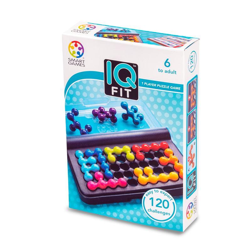 Smart Games IQ Fit. Juego De Viaje. Juegos Inteligentes. Juegos De Bolsillo.