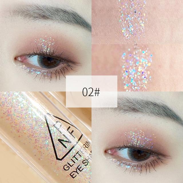 Mermaid Maquiagem Glitter Eyeshadow Gel Makeup Glitter Eye Liquid Pigments Eye Shadow Gel For Face Highlighter Body Hair Beauty 4