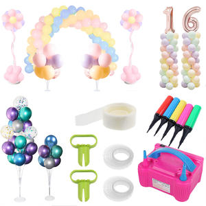 Wedding Ballon Arche Air-Pump Party-Tools Electricity Birth-Day Kids 2set 220v Adult