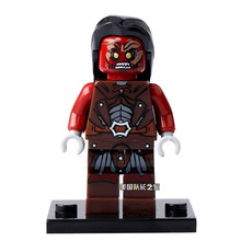 Uruk-Hais The Lord of the Rings Hobbit Rohan Grima Aragorn Mini figures Boromir minifig DIY Building Blocks Kids Xmas Toy(China)