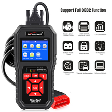 KONNWEI KW850 OBD2 Auto Diagnostic Scanner Universal OBD Car Diagnostic Tool ODB2 Check Engine Automotive Car Code Reader Black все цены