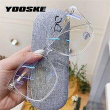 YOOSKE – lunettes de jeu TR90 Anti-blocage bleu pour homme et femme, monture de lunettes optique, myopie, à la mode