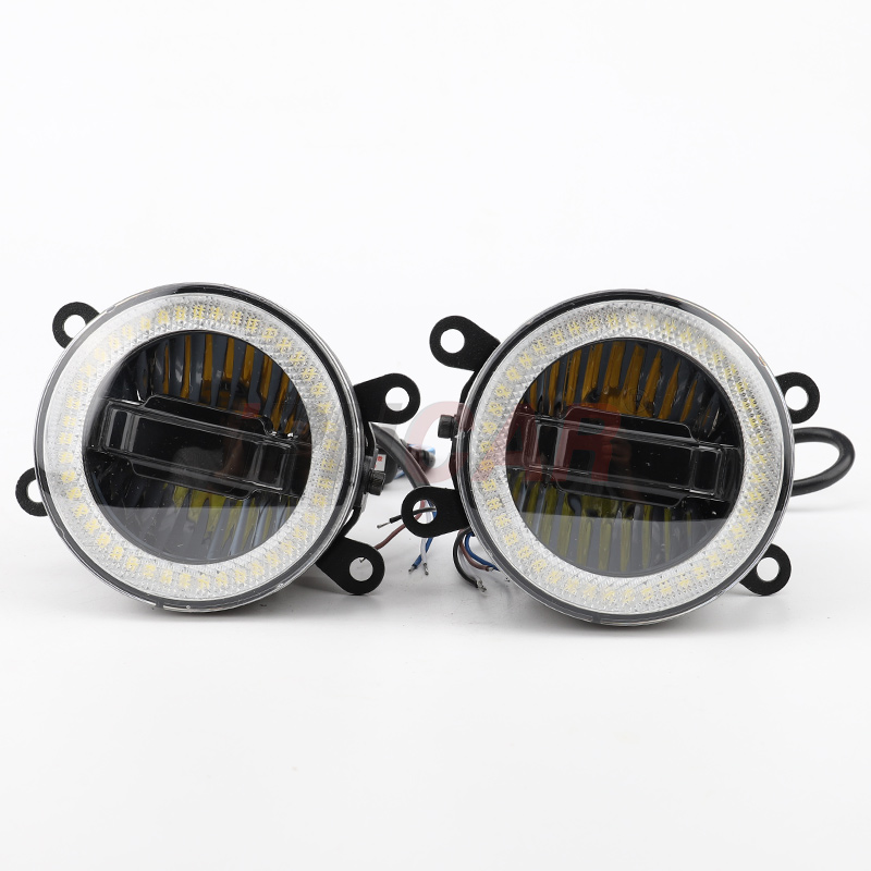 Iphone Car voiture style projecteur phare rénovation voiture diurne lumière antibrouillard LED ange yeux xénon antibrouillard livraison gratuite