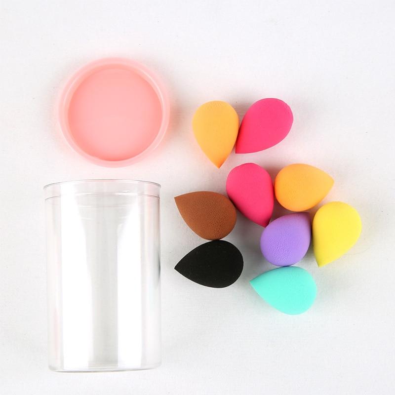 New Beauty Blender Sponge For Makeup Accessories Mini Non-latex Drop Makeup Egg Air Cushion Sponge Powder Puff Makeup Egg