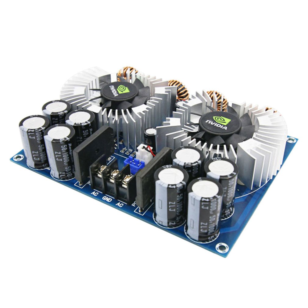 HIFI TDA8954TH Class AD Dual core BTL Digital audio Power Amplifier Board 420Wx2