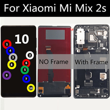 """5.99"""" With frame lcd FOR Xiaomi MI Mix 2S LCD Display Touch Screen Digitizer Assembly Replacement FOR xiaomi MI mix2s LCD Screen"""