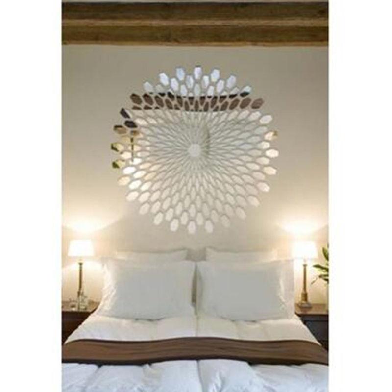 Useful Acrylic Square Decorative Mirror Wall Stickers Environmentally High-quality Bathroom Livingroom Bedroom Decorative Mirror