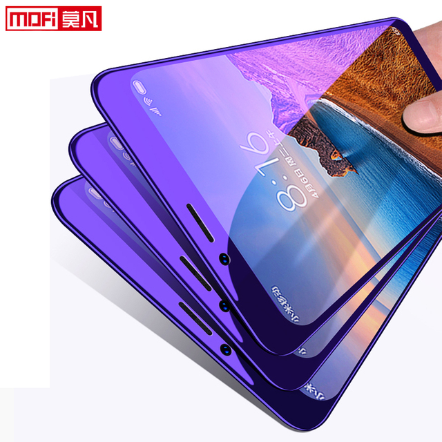 Xiaomi redmi 7A Screen Protector Volledige Cover Mofi redmi 7a Gehard Glas Ultra Clear Front Beschermende 9H 2.5D 7A screen Glas