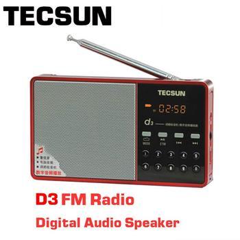 FРадиоприемник TECSUN D3, FM, MP3 2