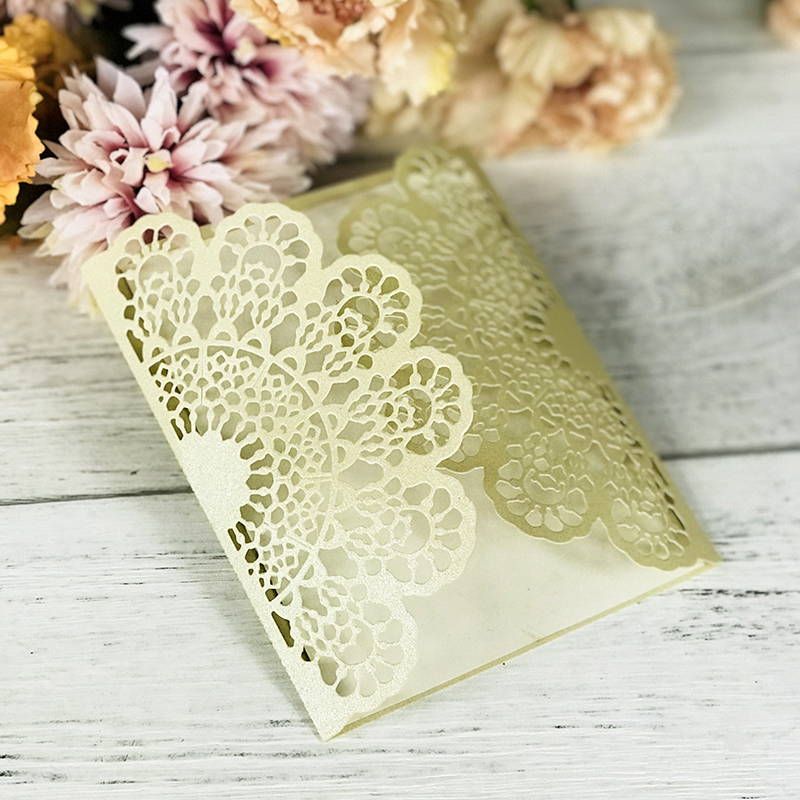 12 oval doily card topper paper die cuts invitation wedding lace wedding