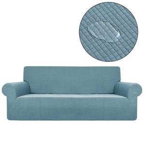 Sofa Cover Waterproof Solid Color Covers For Living Room Armchairs Stretch Covers Sofas Elastic SA47012(China)