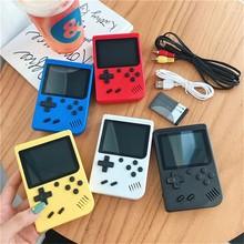 2021 original retro portátil mini handheld console de jogos de vídeo 8-bit 3.0 Polegada cor lcd crianças jogador de jogo de cor embutido 400 jogos