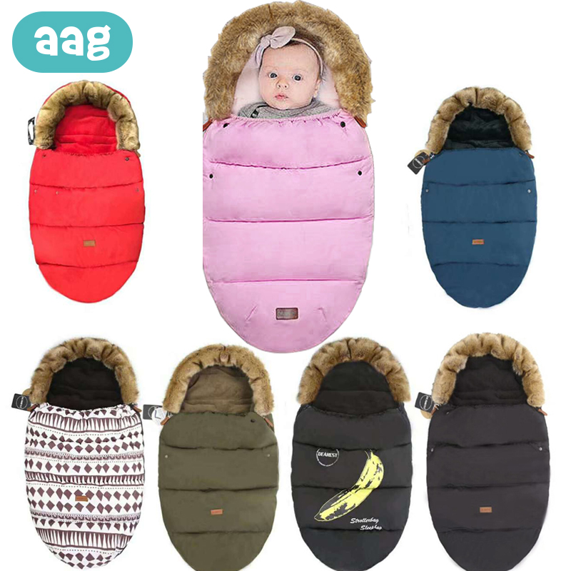 AAG Envelope For Discharge In A Stroller Baby Sleeping Bag Diaper Cocoon For Newborns Maternity Hospital Discharge Kit