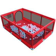 Baby Playpen Indoor Crawling Mat Children Safety Fence Barriers for Ball Pool for Child Basketball Hoop Kids Protective Fence baby game fence multiple combinations baby crawling fence toddler fence child safety fence toy