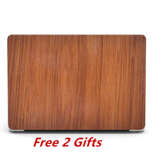 Wood Case for Macbook Pro 15 inch Crystal Clear Cover Apple Mac book 15'' A1286 Retina A1398 A1707 A1990 Touch Bar Cases