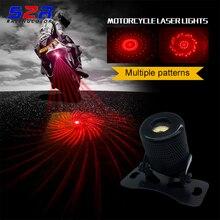 Lâmpada da motocicleta automóvel luz do laser de nevoeiro da bicicleta nevoeiro aviso evitar extremidade traseira segura lâmpada laser para yamaha bmw honda ktm