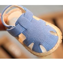 Summer Baby Shoes Fashion Rome Style Closed Toe Bab