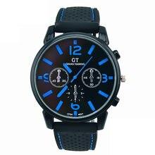 Affaires décontracté hommes mode en acier inoxydable Sport Cool Quartz heures poignet analogique montre BU Sport Quartz montre-bracelet