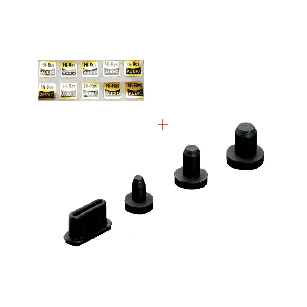 Пылезащитный Разъем для FiiO M11/M11 Pro/M15/M9/X5 III/X7/X7 MarkII/Q5S/Shanling M6 4,4 мм 3,5 мм 2,5 мм Jack