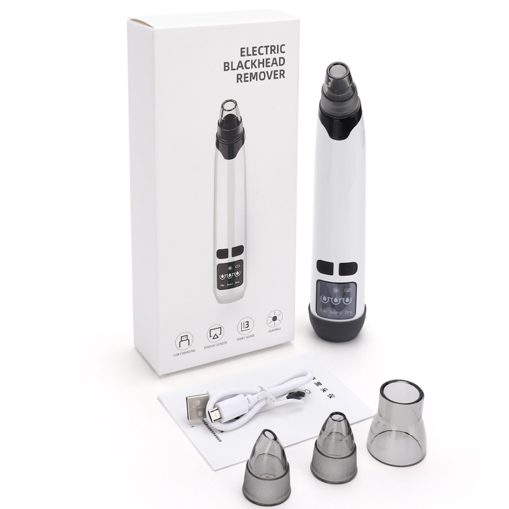 Drop Shipping Face Blackhead Remover Vacuum Acne Pore Pimple Removal Electric BlackHead Vacuum Cleaner Facial Skin Care Tool