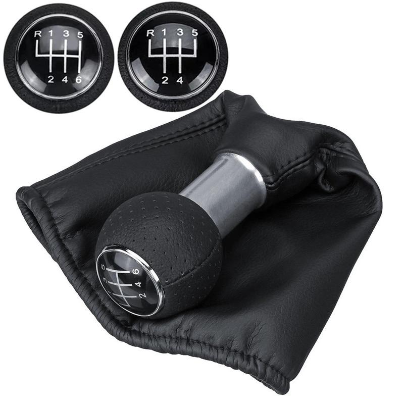 5/6 Speed MT Manual Transmission Gear Shift Knob For VW Polo 6N2 Golf MK4 CADDY LUPO 6X1 for Seat IBIZA CORDOBA INCA Gaiter Boot|Gear Shift Knob| |  - title=