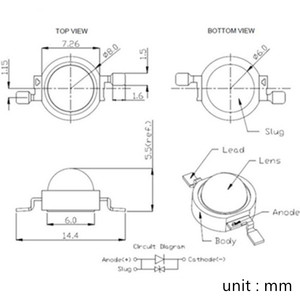 Светодиодный диодный светильник, 10 шт., 3 Вт, желтый, RGB, УФ-белый диодный светодиодный светильник с металлической пластиной, радиатором, алюминиевым основанием, звездным светом, полным спектром