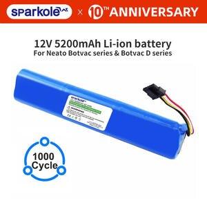Sparkole 12V 5200mAh литий-ионная аккумуляторная батарея для Neato BotVac 70e 75 80 85 D75 D85 пылесос для neato Botvac D серии