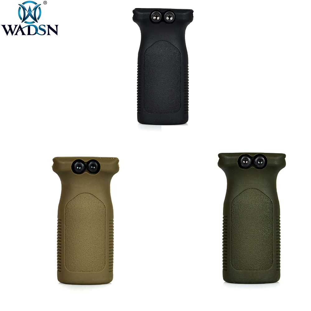 WADSN Tactical Shooting Paintball Accessorie RVG Rail Vertical Polymer Grip Front Griff Forward Foregrip Fit For Picatinny Rail