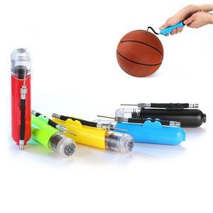 Portable Dual Action Sport Balls Basketball Football Yoga Ball Air Pump Inflator Portable Air Pump dual action design sports use