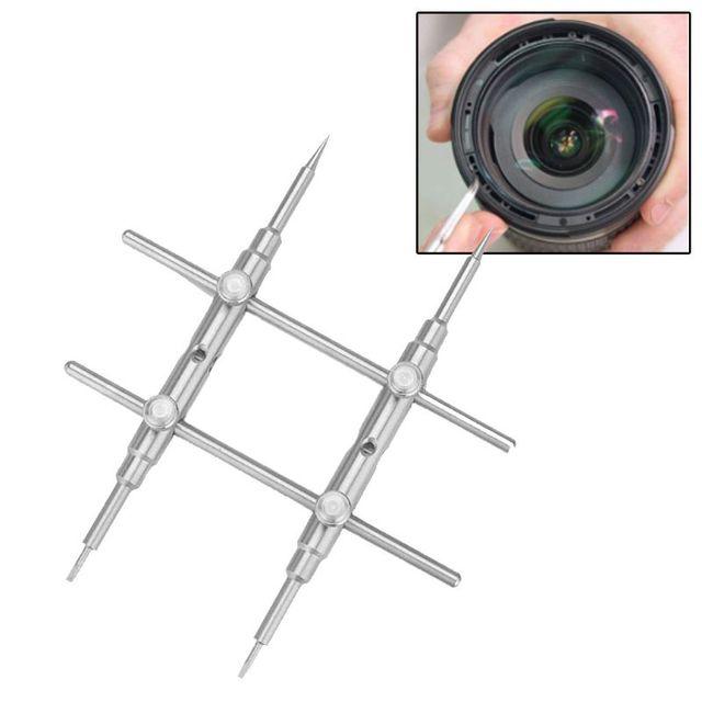 25 130 مللي متر منحني نصائح عدسة الكاميرا مفتاح البراغي إصلاح افتتاح أداة ل DSLR عدة