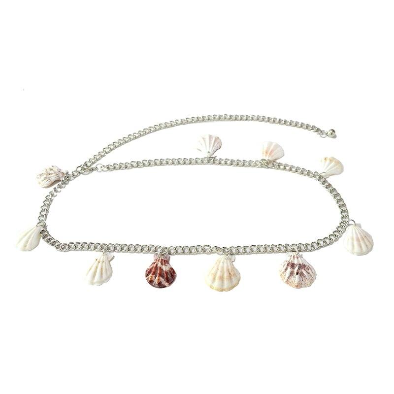 Luxury Designer 2020 New 3CM Wide Gold Chain Fashion Shell Pendant Elegant Temperament Body Chain Bg-1613