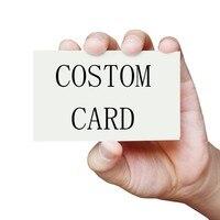 Darmowy projekt 100 sztuk dziękuję YouSingle-z jednostronnym nadrukiem kart biznesowych karty niestandardowe małe prezent biznesowy etykieta dekoracyjna karty