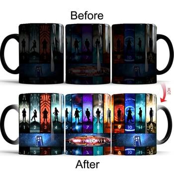 Doctor Who Magic Mug All Doctors  1