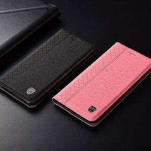 Image 5 - Sprawa dla Xiaomi Mi A3 miA3 Lite Plaid styl płótno wzór skórzany pokrowiec dla Xiaomi mi A3 przypadki Coque