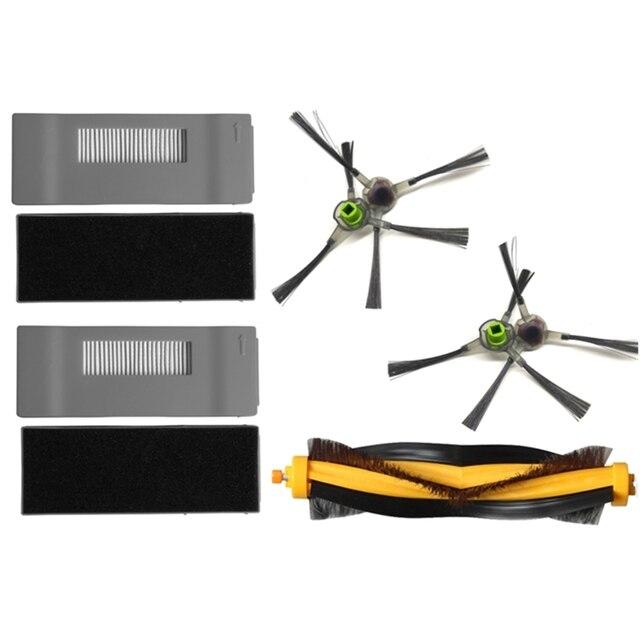 Filtr HEPA główne szczotka boczna szczotka Mop szmatką dla Ecovacs Deebot DM81 DM85 DT85 DT83 odkurzacz robot części zamienne akcesoria