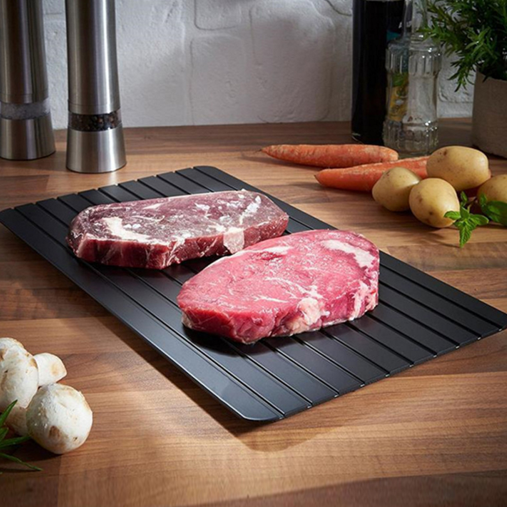 Fast Defrost Tray Thaw Master Frozen Food Meat Fruit Quick Defrosting Plate Board Defrost Kitchen Gadget Tool Keukenhulpjes