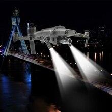 Gece uçuş LED aydınlatma kiti için DJI Mavic 2 Pro/Zoom yön navigasyon Spot ışık far Drone aksesuarları