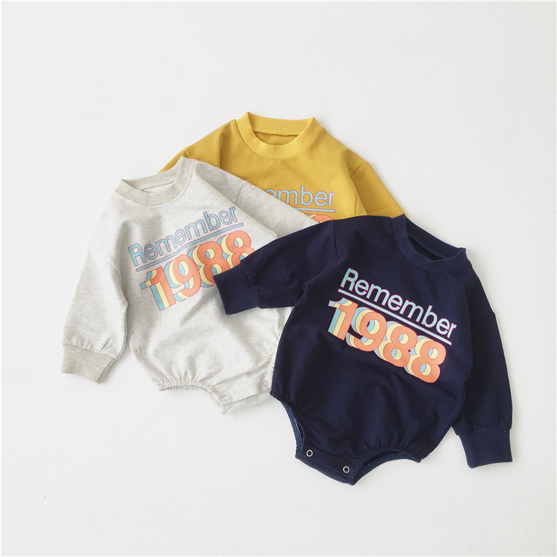 MILANCEL  New Baby Clothes Baby Boys First Birthday Clothes Sports Style Baby Girls Bodysuits