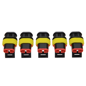 Image 4 - 26 Sets 1 4 Pin Way 300V 16A Waterproof Car Auto Electrical Wire Connector Plug Kit for Auto Car Marine Replacement Parts