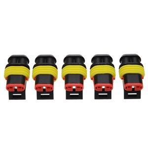 Image 4 - Kit de connecteurs de fils électriques pour voiture, 26 ensembles de connecteurs 1 4 broches, 300V 16a étanche, voiture, pièces de rechange pour la Marine