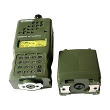 戦術的な AN/PRC 152 · ハリス軍用無線通信ケースモデル仮想 prc 152 非機能軍事インターホンモデル