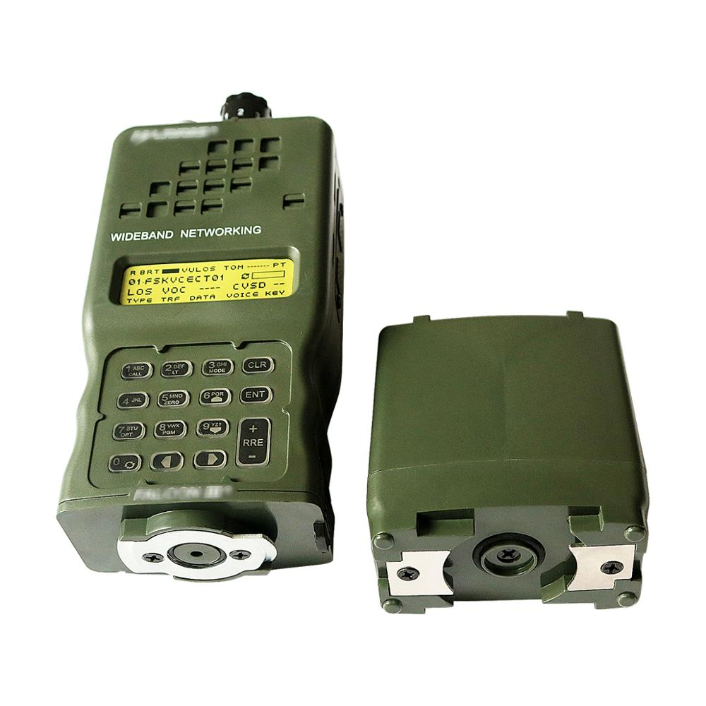 Tactical AN / PRC-152 Harris Military Radio Communication Case Model Virtual PRC 152 Non-functional Military Interphone Model