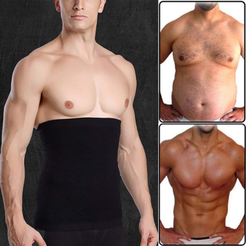 Men Slimming Waist Trimmer Belt Corset Beer Belly Fat Cellulite Burner Tummy Control Stomach Girdle Body Shaper Weight Loss